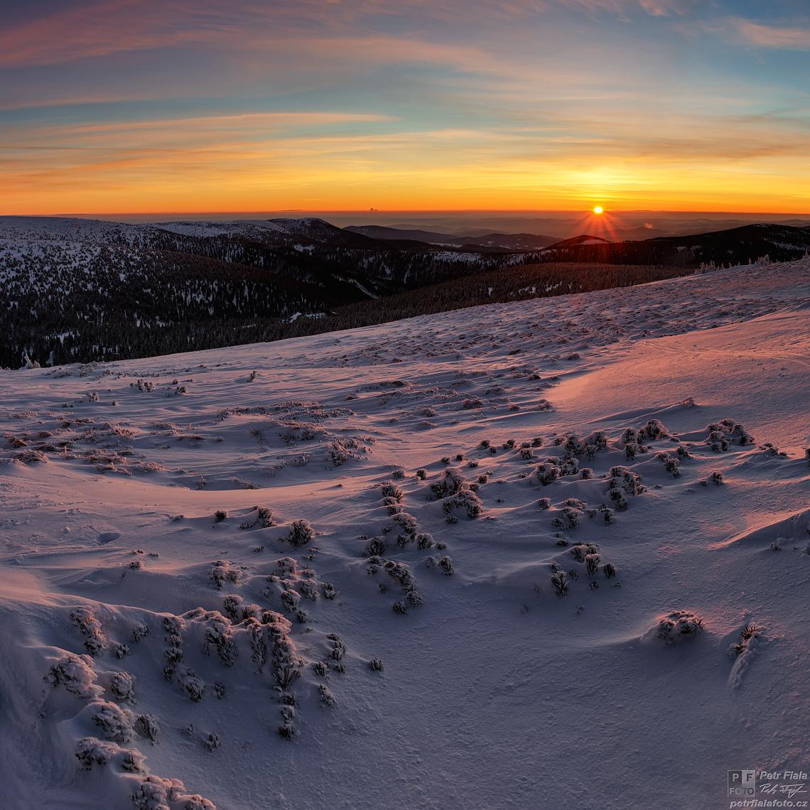 Kleče v zajetí zimy | Petr Fiala