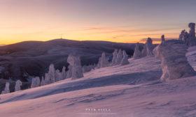 Před východem na Červené hoře