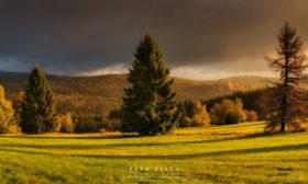 Podzimní ráno Rýmařovsku