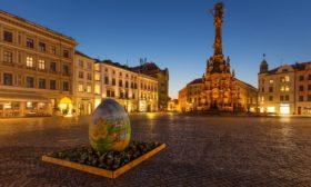 Velikonoční Horní náměstí v Olomouci