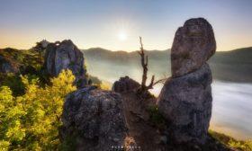 Ráno na Suľovských skalách
