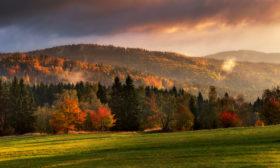 Podzim na Novoveském vrchu