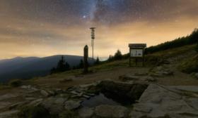 Pramen Moravy a hvězdy