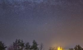 Svatý Kopeček pod hvězdami