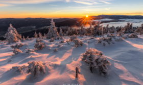 Zimní ráno v Jeseníkách II.