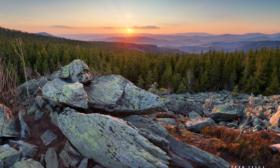 Večer na Černých Kamenech (II.) – Jeseníky